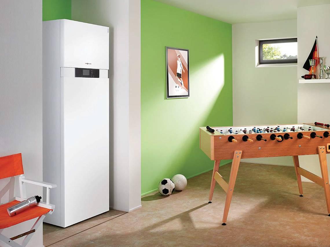 Energietechnik Viessmann Erd Waermepumpe