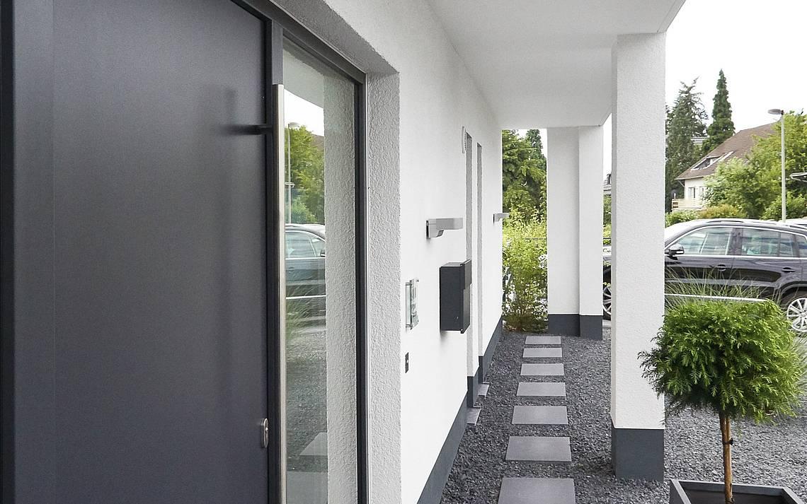 Eingangsseite Bauhaus Lohmar Kern-Haus