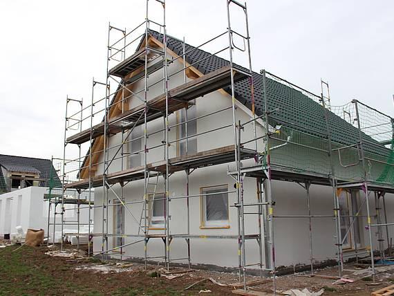 Familienhaus von Kern-Haus im Baugebiet Erfurt-Marbach