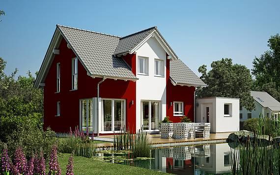 Kern-Haus Familienhaus Loop Plus Gartenseite