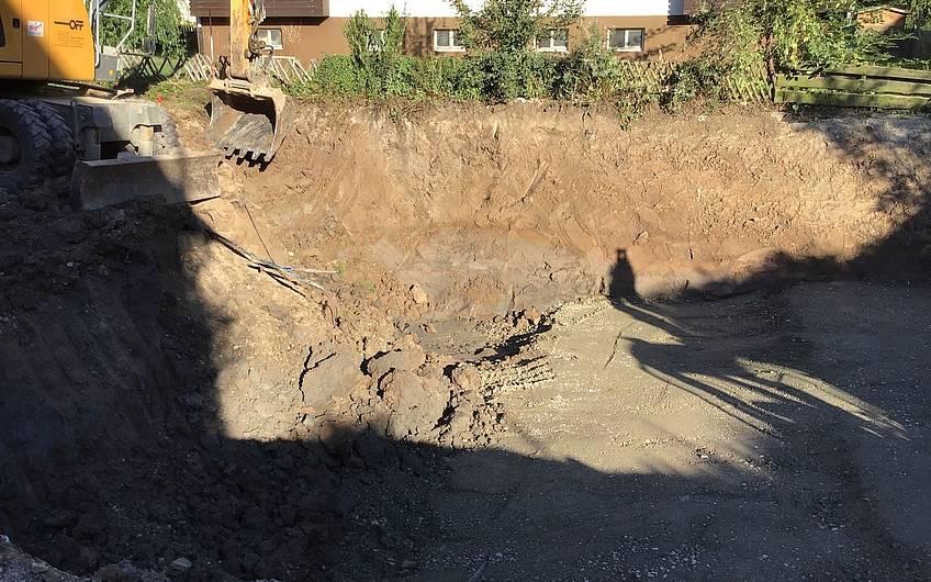 Vorbereitung Grundstück Remstal Korb
