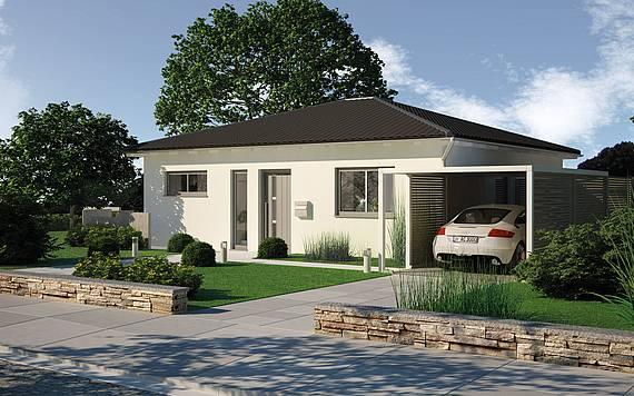 Massivhaus Kern-Haus Bungalow Easy Eingangsseite
