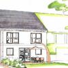 Visualisierung Doppelhaushälfte in Coswig