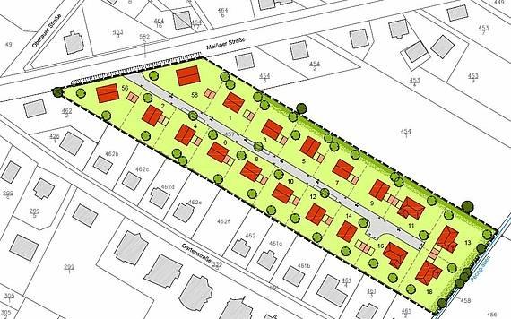 Gestaltungsplan in Niederau