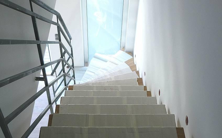 Montage Treppenstufen