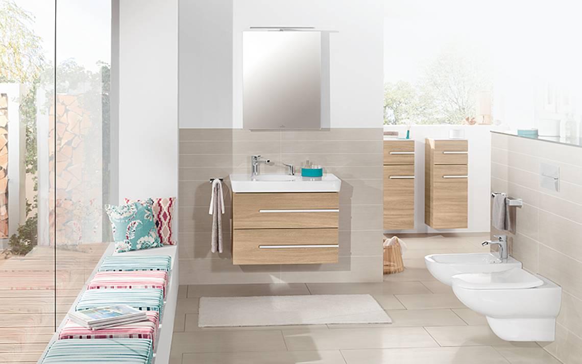 Kern-Haus Badezimmer: Villeroy und Boch Joyce