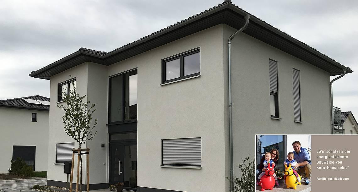 Bauen mit Kern-Haus in Magdeburg