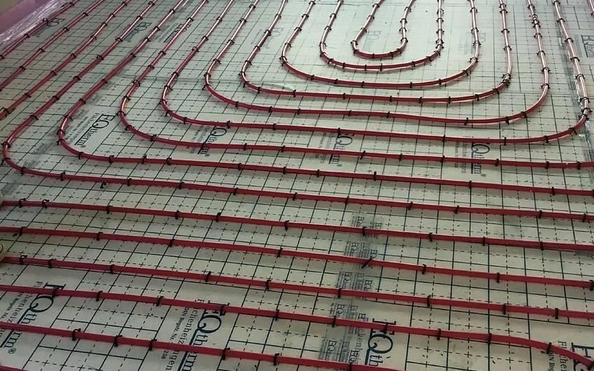 Fußbodenheizung im Familienhaus Jano von Kern-Haus in Forchtenberg