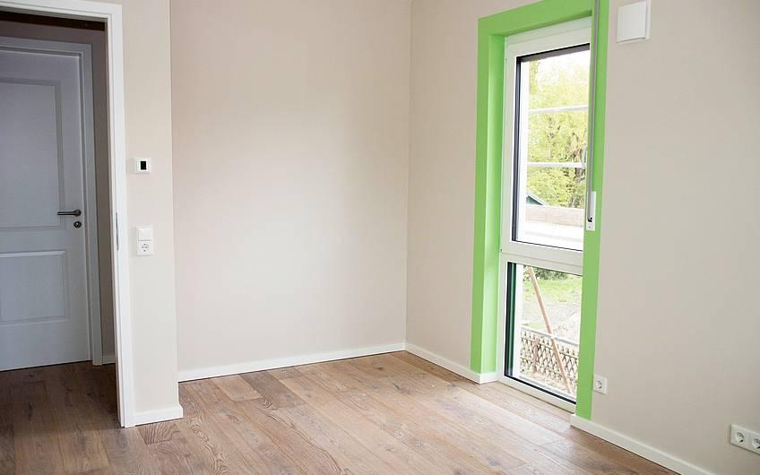 Zimmer grün Obergeschoss