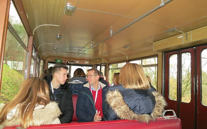 Auffahrt zum Adventsbrunch von Kern-Haus Köln-Bonn