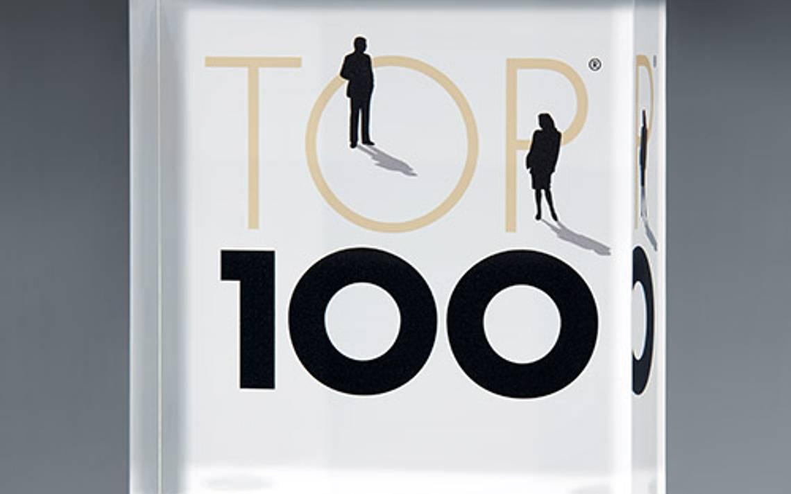 Trophaee der TOP 100 der innovativsten Mittelstaendler