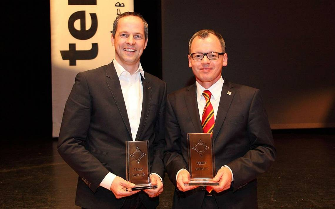 Übergabe TEMP-Award