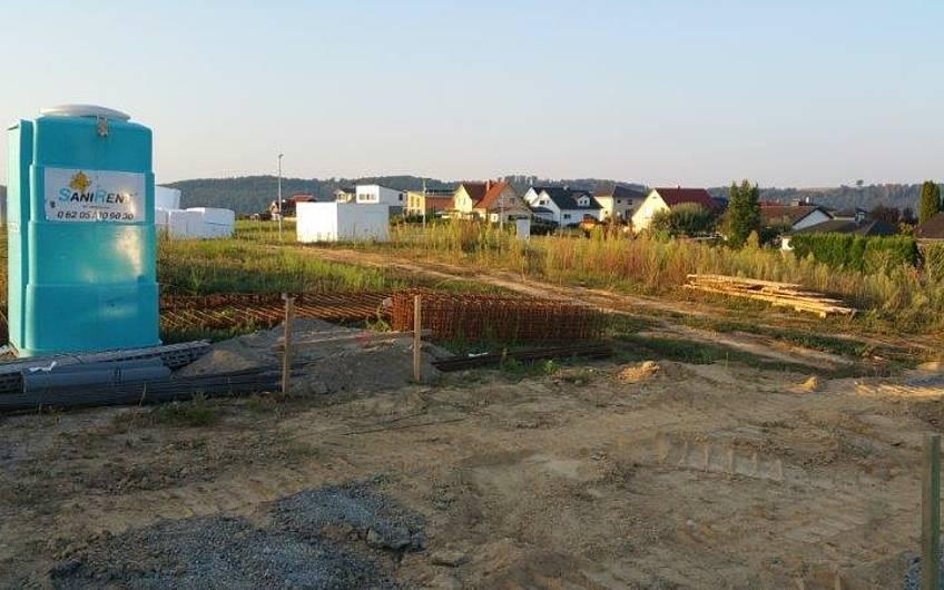Grundstück für die individuell geplante Doppelhaushälfte Twin XL von Kern-Haus in Bammental