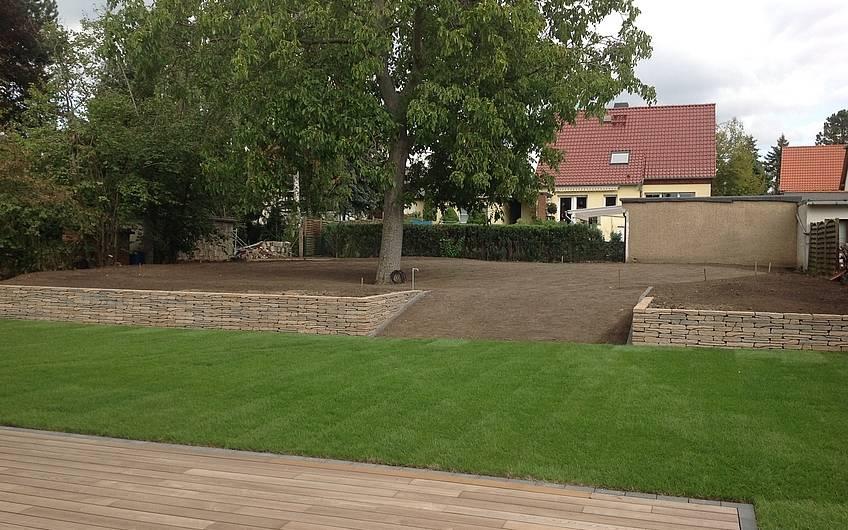 Gartenanlage Kern-Haus