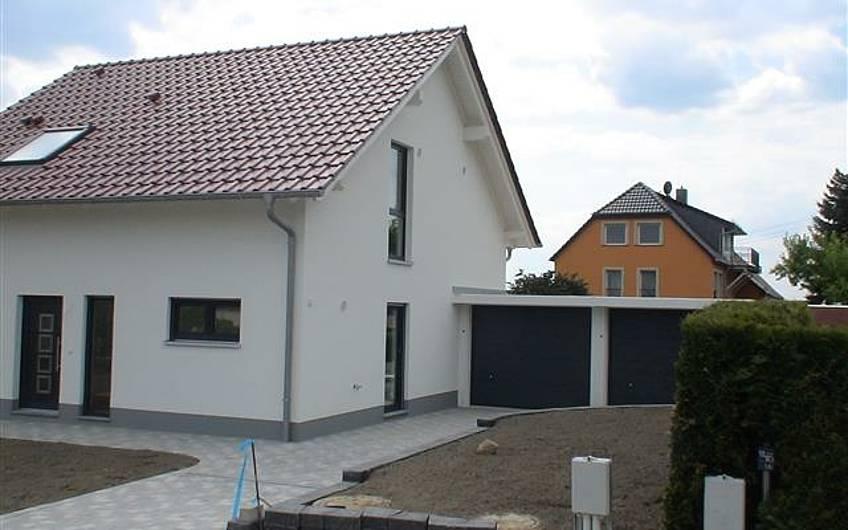 Die Eingangsseite Hauses
