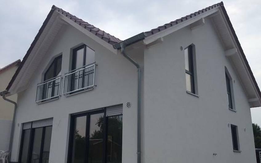 Eine tolle Außenansicht des Architektenhauses