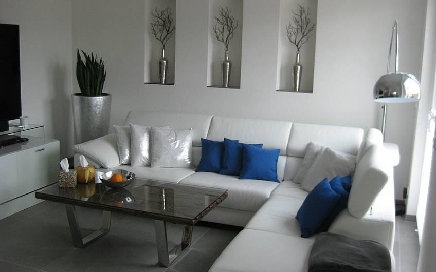 Stilvoll und elegant - das Wohnzimmer