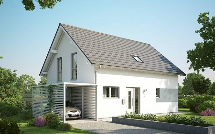 Visualisierung des Architektenhauses Signum Plus von Kern-Haus