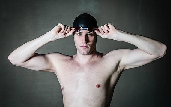 Freiwasser-Schwimmer Christian Reichert