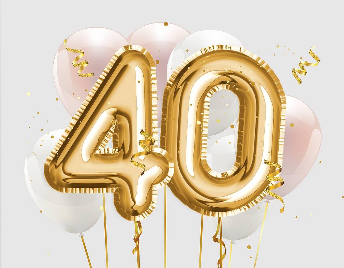 Luftballons 40 Jahre