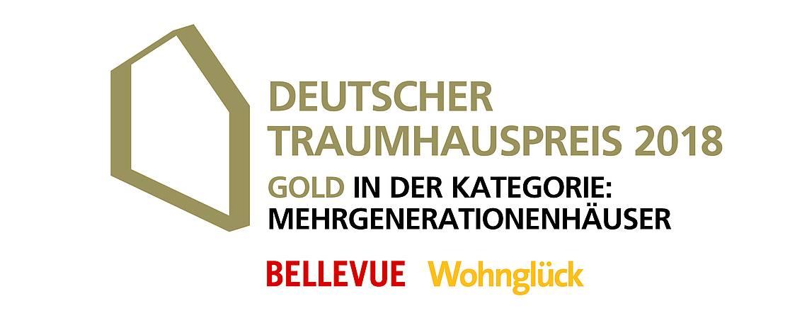 Deutscher Traumhauspreis 2018 Logo Mehrgenerationenhäuser
