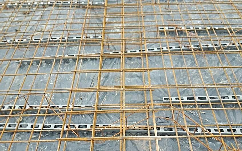 Bodenplattenarmierung