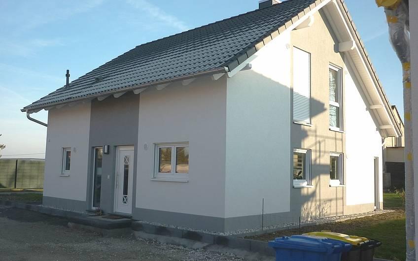 Fertigstellung Kern-Haus in Taucha