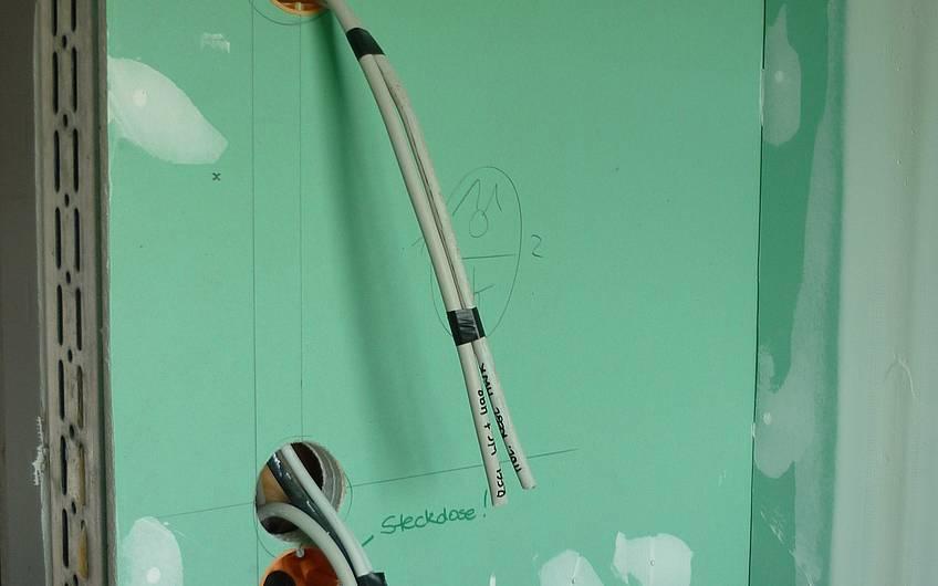 Elektrokabel für Elektroinstallation