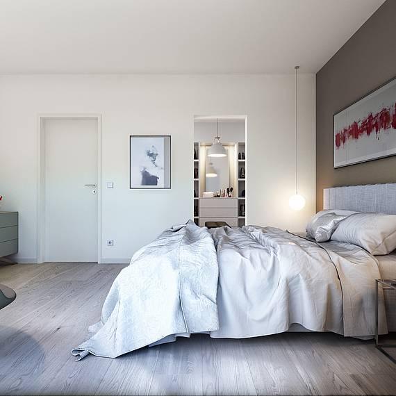 Kern-Haus Futura Bauhaus Schlafzimmer