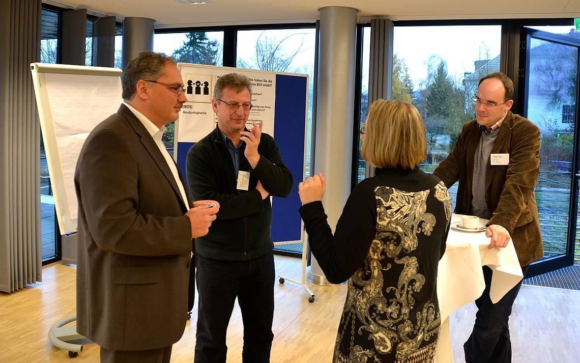 Kundenforum 2012: Präsentation der Kern-Haus-Kunden