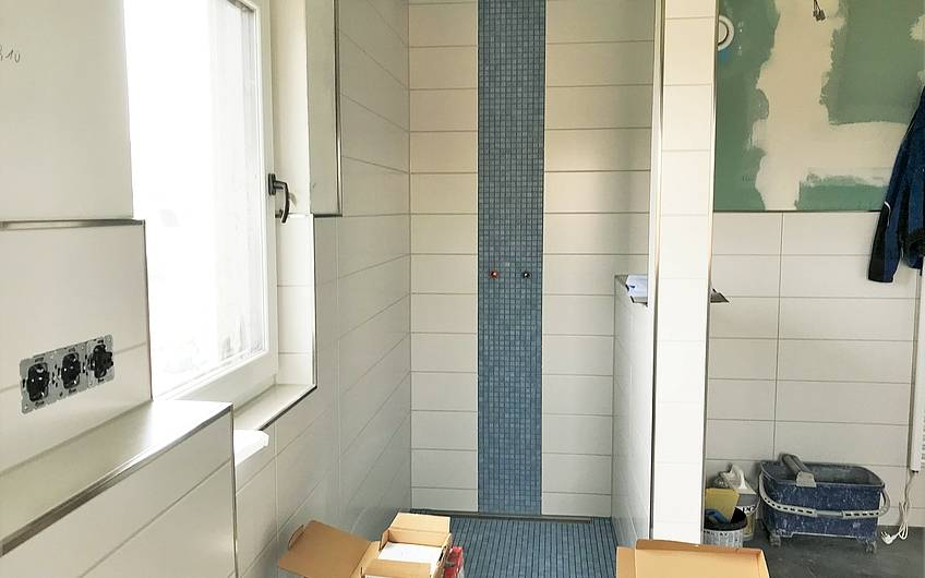 Dusche in einem Kern-Haus in Magdeburg-Stadtvilla