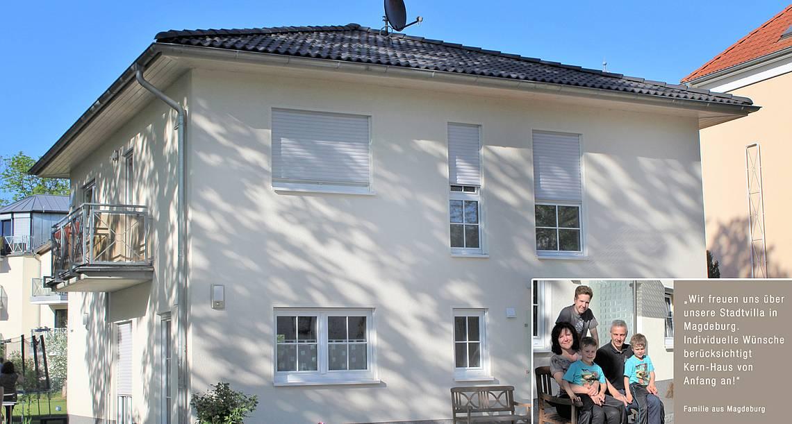 Stadtvilla von Kern-Haus in Magdeburg