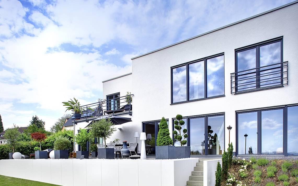 Kern-Haus Bauhaus in Lohmar Außenansicht