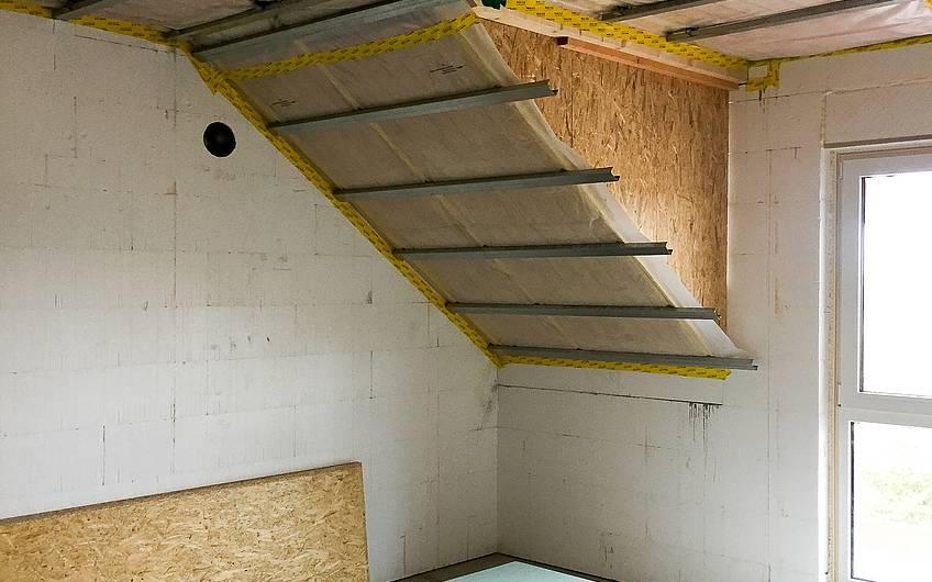 Dachdämmung im Dachgeschoss