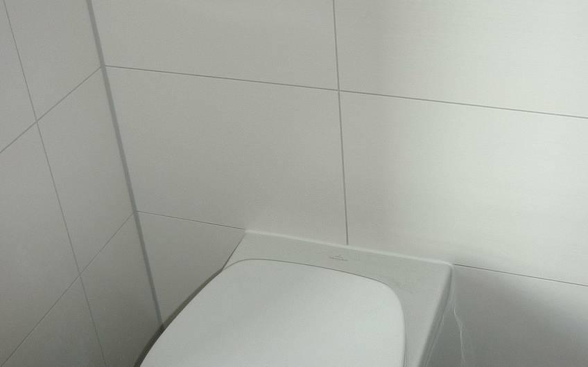Montage WC Becken