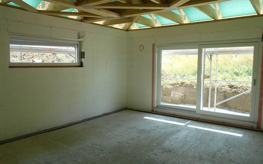Eingebaute Fenster.