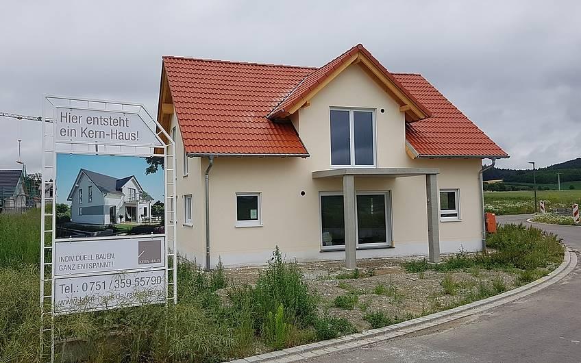 In Riedhausen entsteht ein individuelles Signum Plus von Kern-Haus.