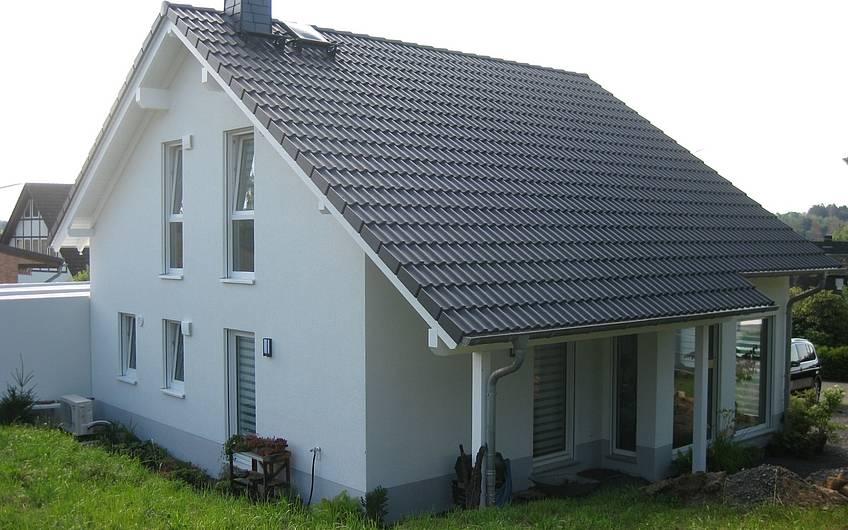 Das Haus Family von der Terrassenseite.