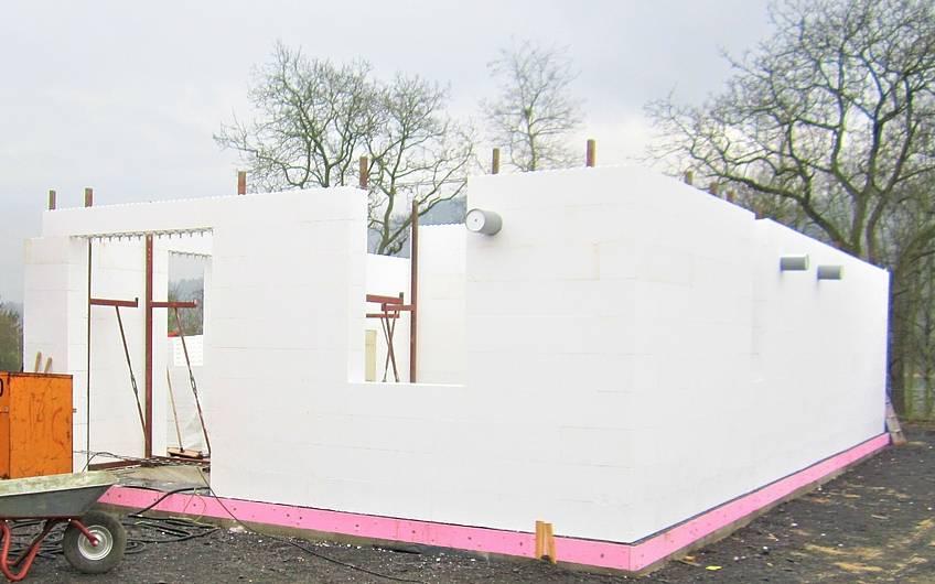 Aufbau des Erdgeschosses