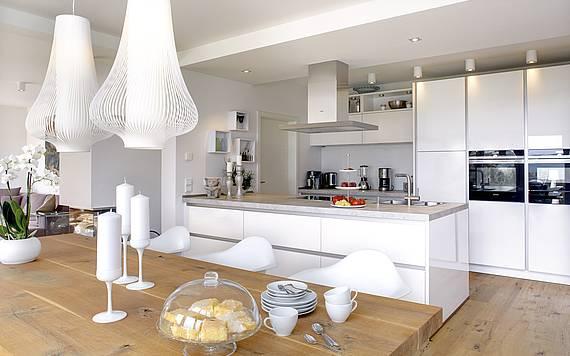 Offene Küche Bauhaus Kern-Haus