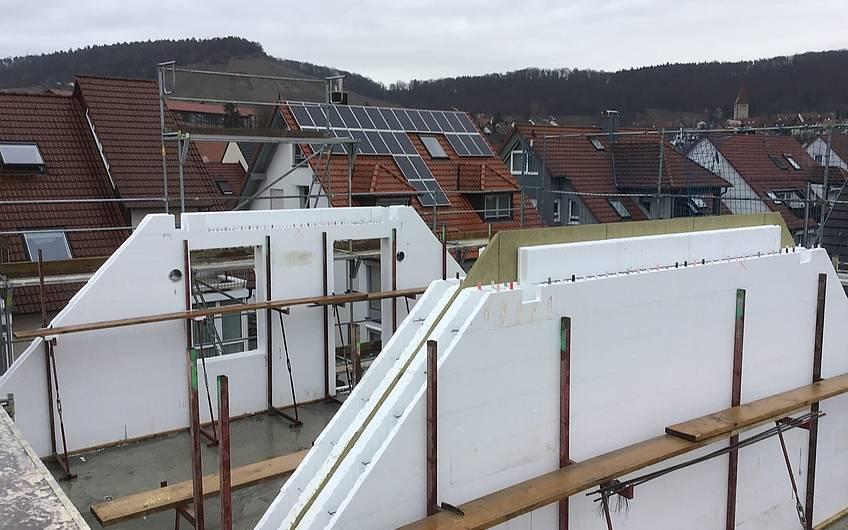 Dachgeschosswände in DuoTherm