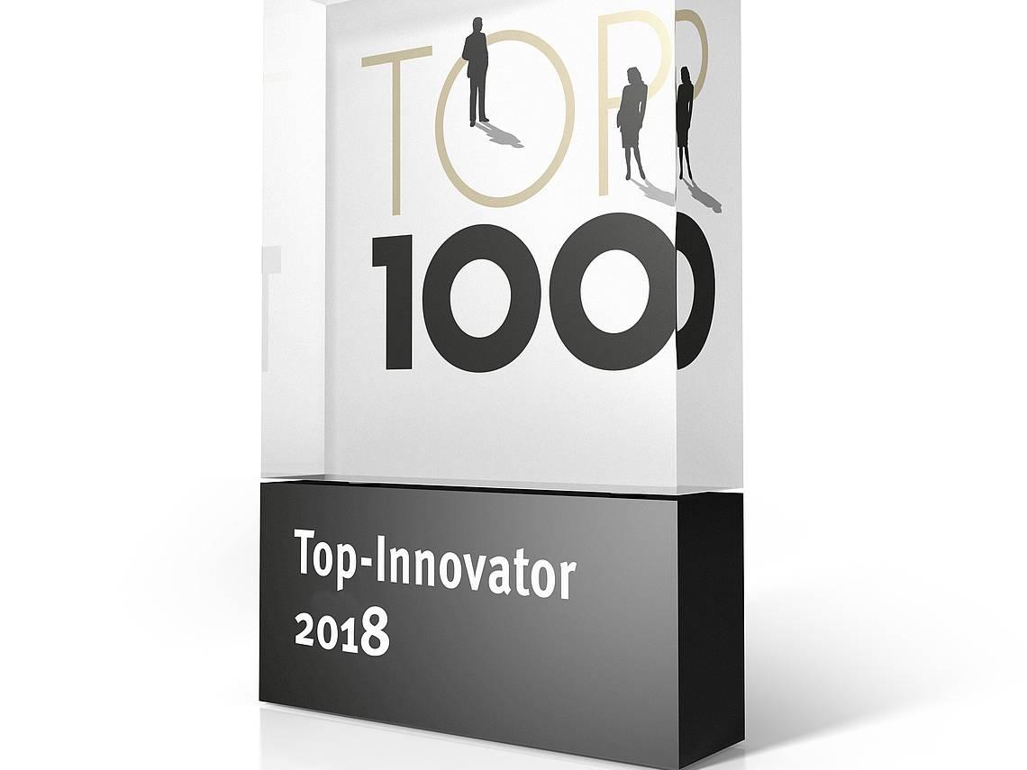 Trophäe TOP 100 2018