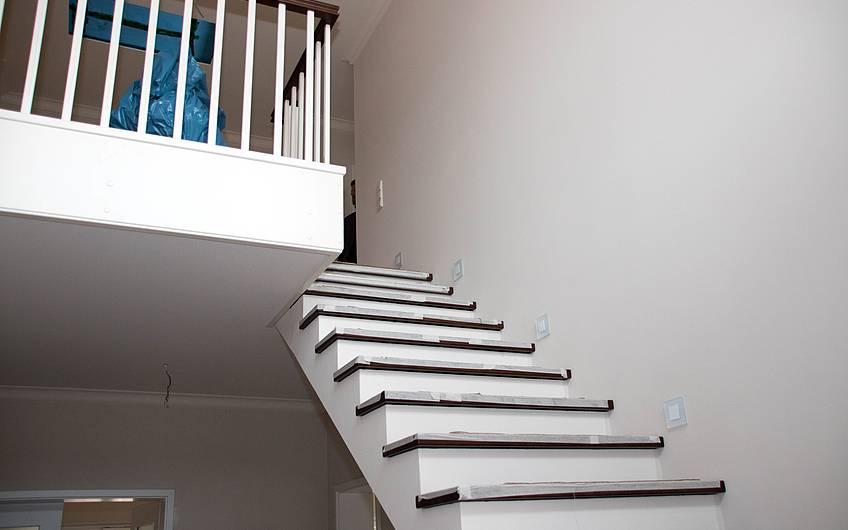 Treppe mit Galerie