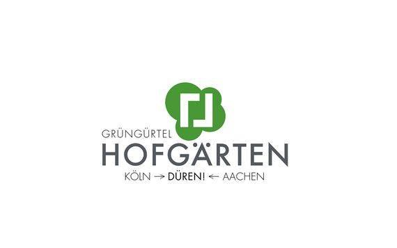 """Logo """"Hofgärten"""" in Düren"""