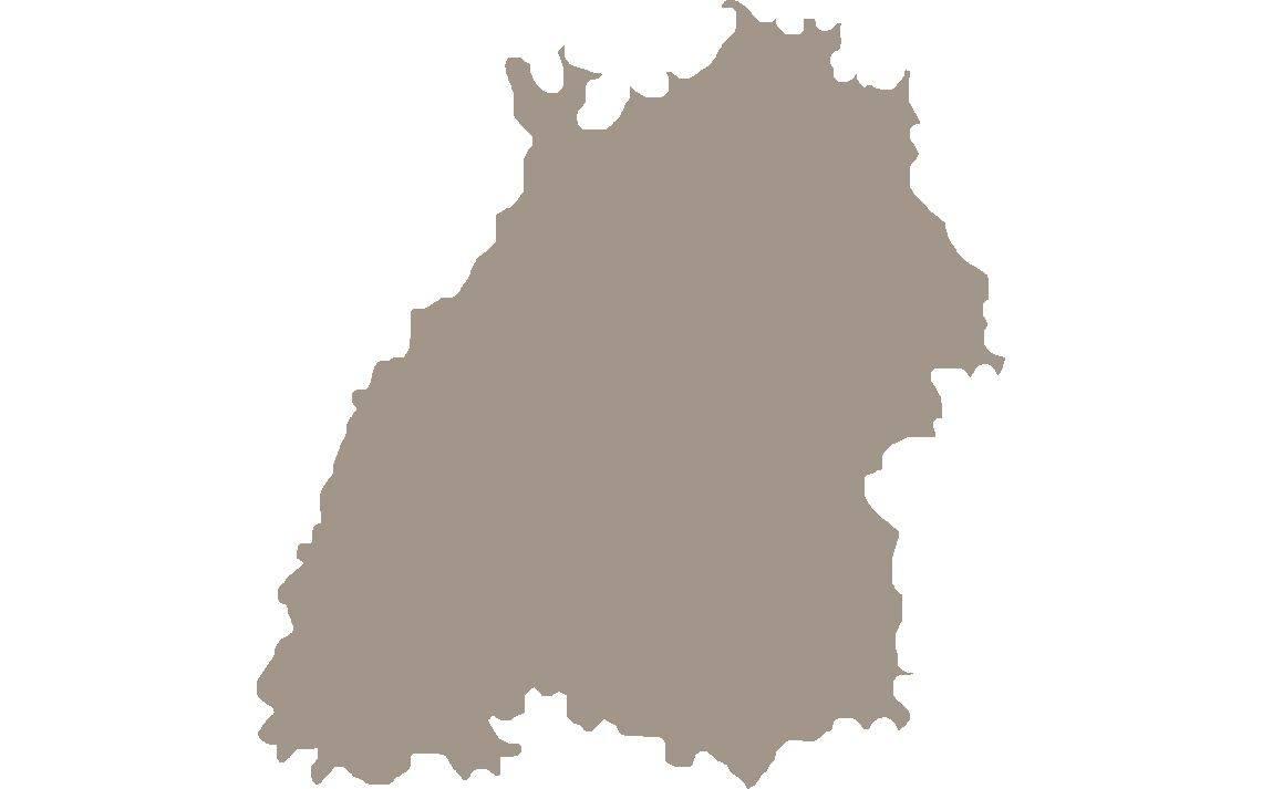 Karte Baden-Württemberg