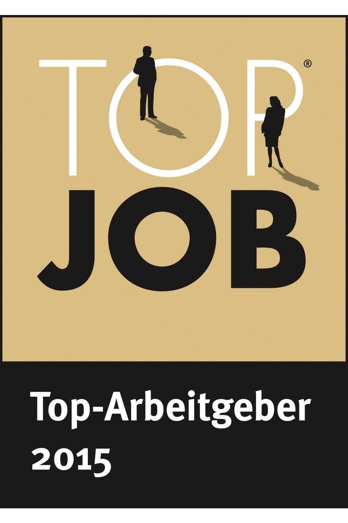 Logo Top Job - Top Arbeitgeber 2015