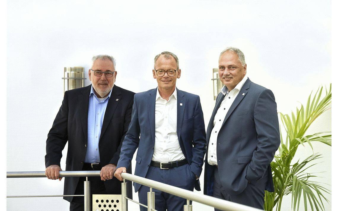 Klaus Kern, Bernhard Sommer und Frank Krämer