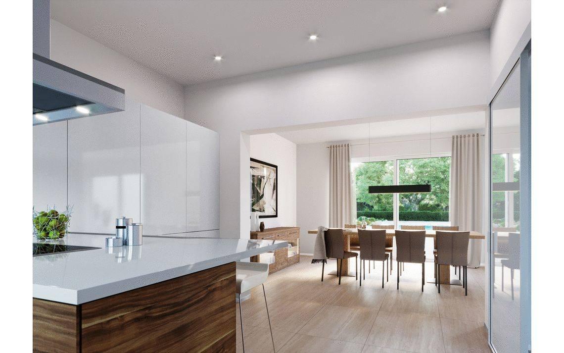Massivhaus Kern-Haus Stadtvilla mit Einliegerwohnung Vivaro Küche