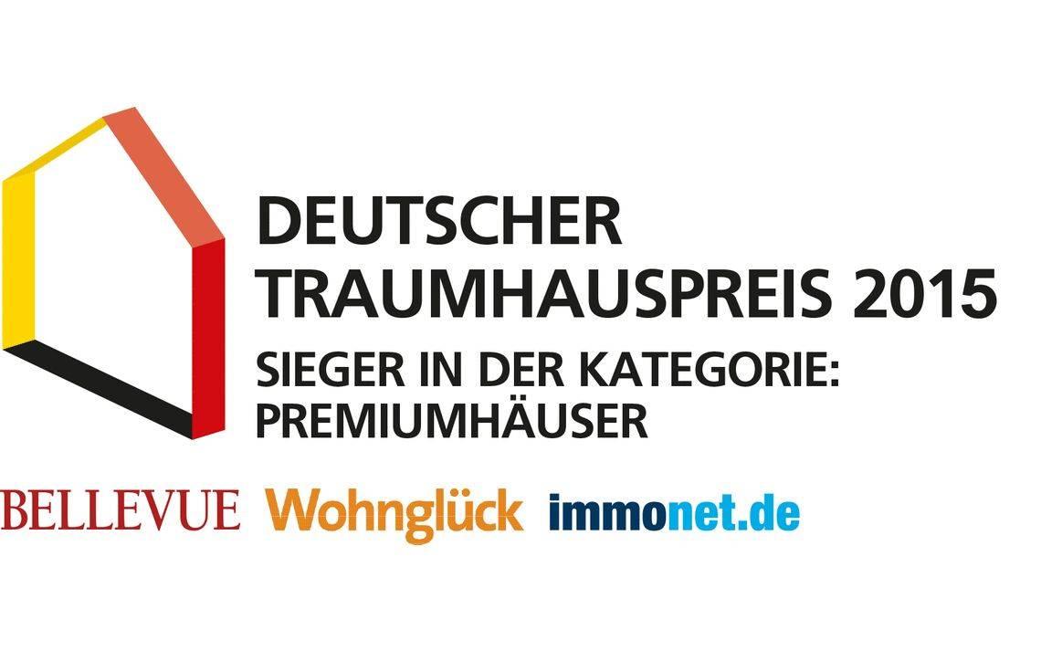 Logo Deutscher Traumhauspreis Premiumhaeuser