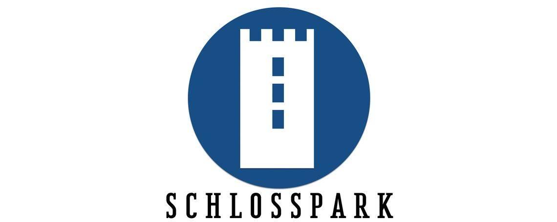 Logo eines der Quartiere im Rheinquartier: Schlosspark